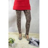 Leopard print fashion leggings