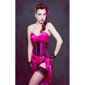 Charming corset under the breast