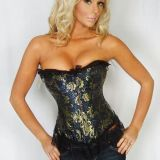 Corset with lace
