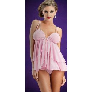 Pink negligee Tenderness