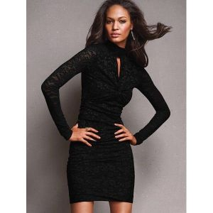 SALE! Stylish dress in black