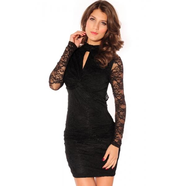 SALE! Stylish dress in black. Артикул: IXI13089