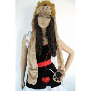 Warm fancy hat - lion. Артикул: IXI13125