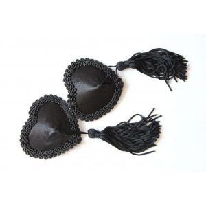 Stikine satin heart with tassels