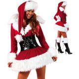 Бархатный рождественский костюм по оптовой цене