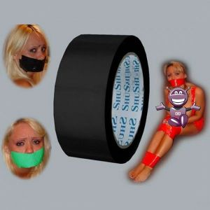 Black adhesive tape for binding