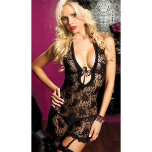 Fishnet negligee black. Артикул: IXI13209