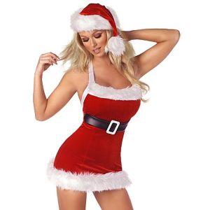 Секси костюм мини-Санта