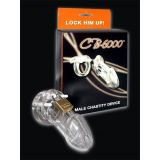 Male chastity belt CB-6000