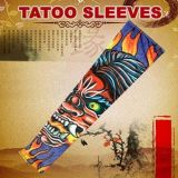 Tattoo sleeves print fire devil, 2 PCs