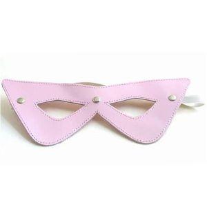 Розовая соблазнительная маскарадная маска