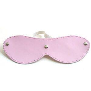 Розовая маска без вырезов