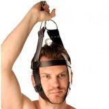 БДСМ - Кожаный крепитель для головы