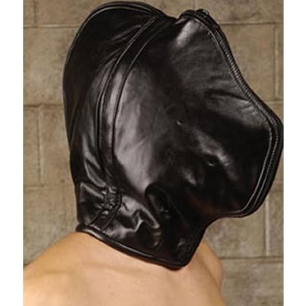 Leather face mask. Артикул: IXI13590