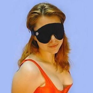 Черная повязка для глаз