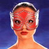 Красная карнавальная маска по оптовой цене