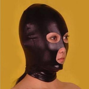 Black mask with cut outs. Артикул: IXI13606