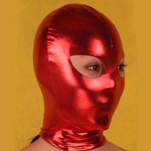 SALE! Red vinyl mask