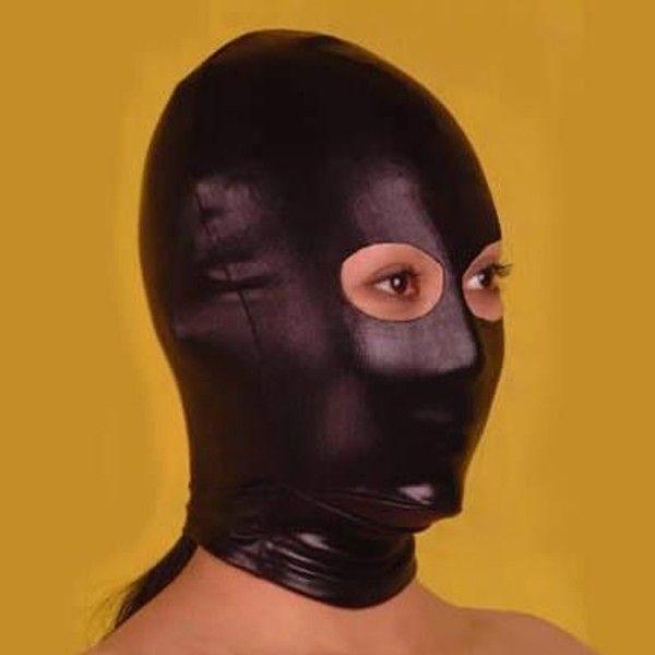 Черная маска для жестких игр