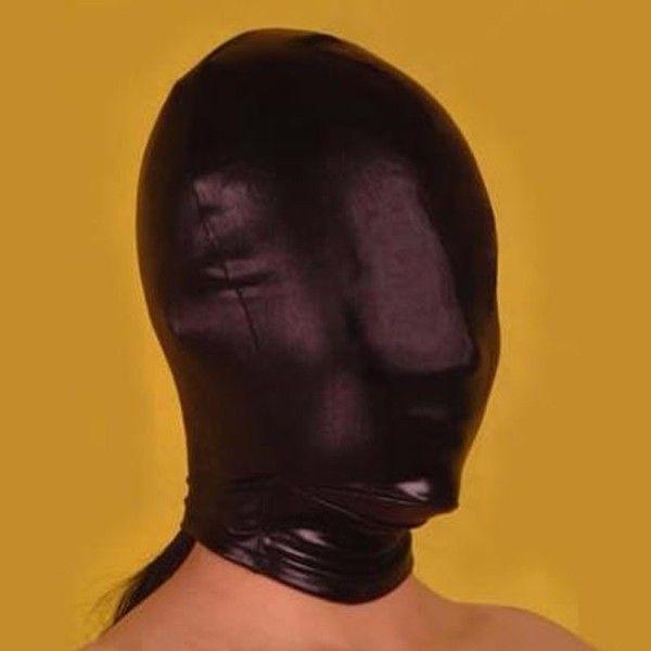 BDSM (БДСМ) - Черная маска на все лицо