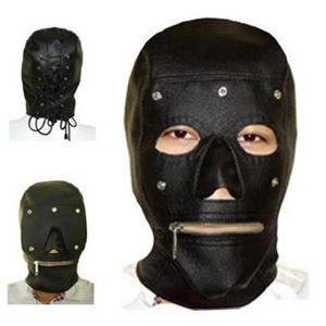 Leather mask. Артикул: IXI13615
