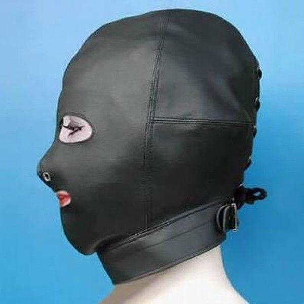 РАСПРОДАЖА! Черная сексуальная маска