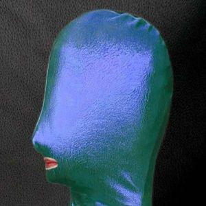 РАСПРОДАЖА! Зеленая/синяя виниловая маска
