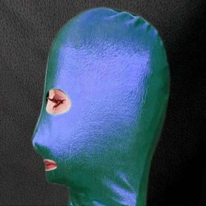 SALE! Green/blue mask vinyl