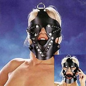 Black muzzle with a gag 3.5 cm. Артикул: IXI13626