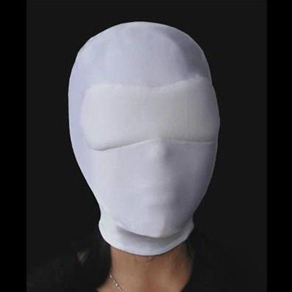 BDSM (БДСМ) - Белый эластичный намордник