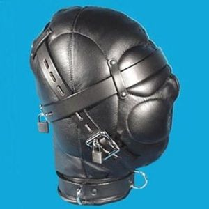 Leather muzzle from genuine leather