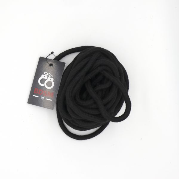 Черные хлопковые веревки для БДСМ-игр. Артикул: IXI13633