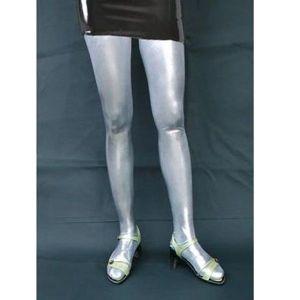Серебрянные чулки - Одежда (латекс, винил)