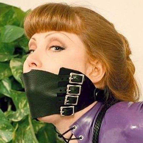 BDSM (БДСМ) - РАСПРОДАЖА! Кожаный кляп