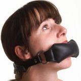 Черный кляп для рта в форме подушечки по оптовой цене