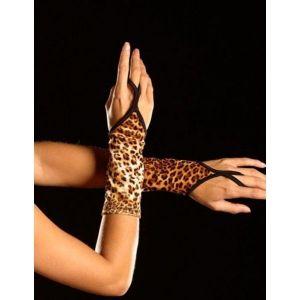 Леопардовые перчатки - Перчатки