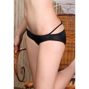 Black elastic panty