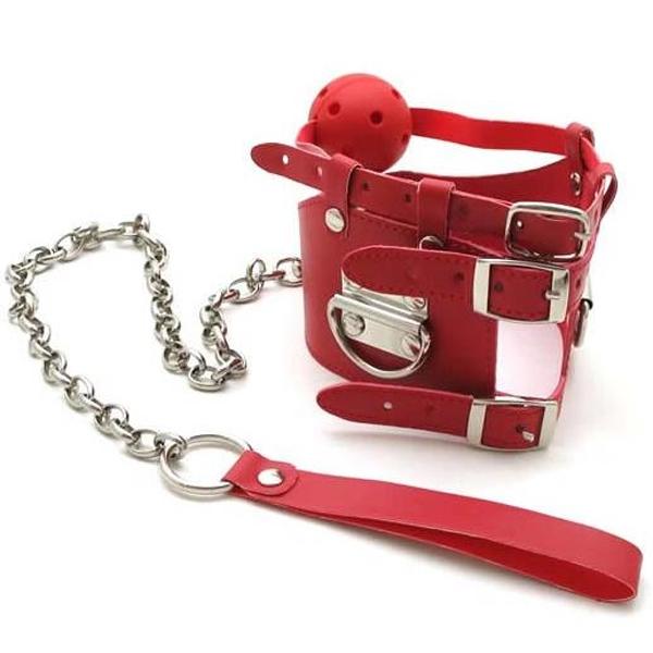 BDSM (БДСМ) - <? print Красный кляп с цепью; ?>