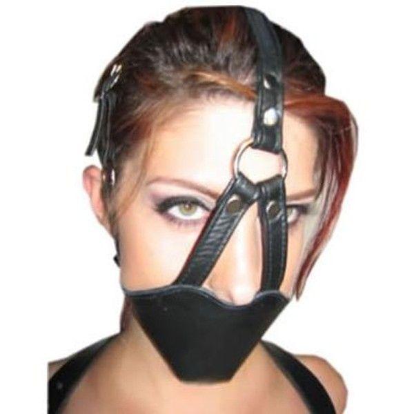BDSM (БДСМ) - Черный классический намордник