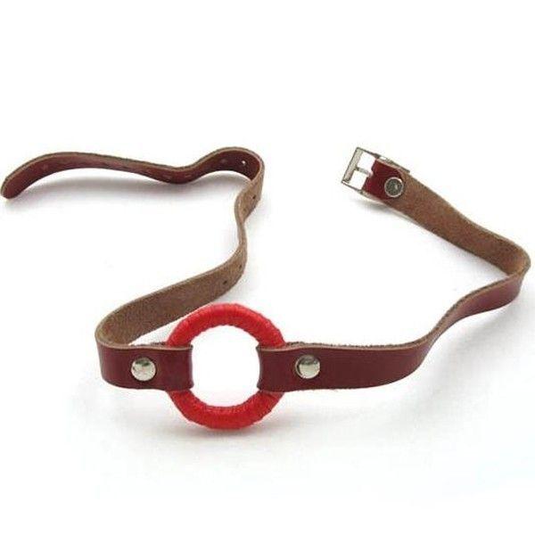 BDSM (БДСМ) - РАСПРОДАЖА! Классический красный кляп для рта