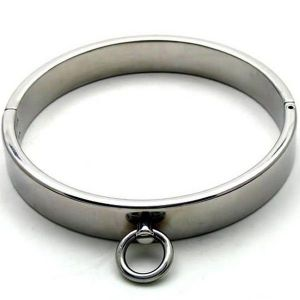 Metal collar for men