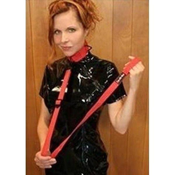 BDSM (БДСМ) - Красный нейлоновый ошейник