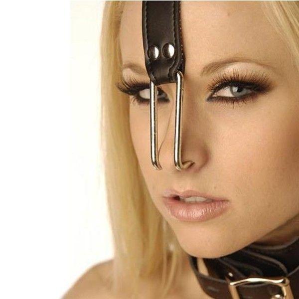 BDSM (БДСМ) - Ошейник с крючками для носа