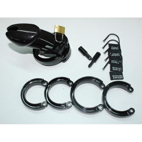 BDSM (БДСМ) - <? print Черный мужской пояс верности CB-6000; ?>