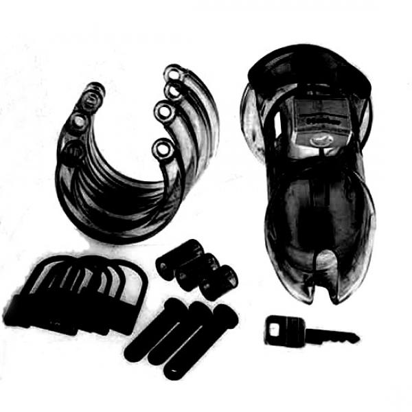 Black male chastity belt CB-6000. Артикул: IXI13953