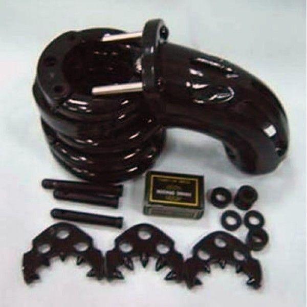 BDSM (БДСМ) - Черное устройство целомудрия