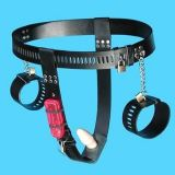 Black female chastity device