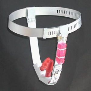 SALE! Silver chastity belt