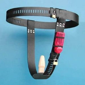SALE! Black female chastity belt