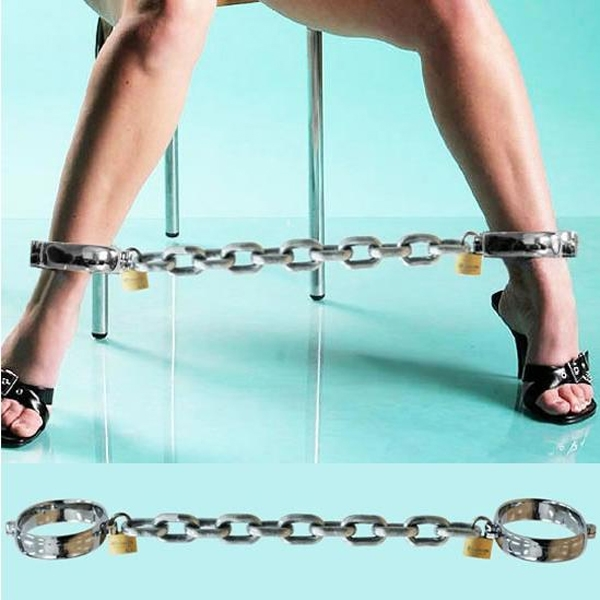 Steel narozniki for men and women with chains. Артикул: IXI14067